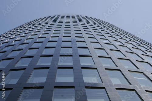 Türaufkleber Darknightsky rwe building