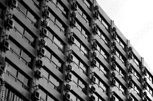 urban living block Wallpaper Mural