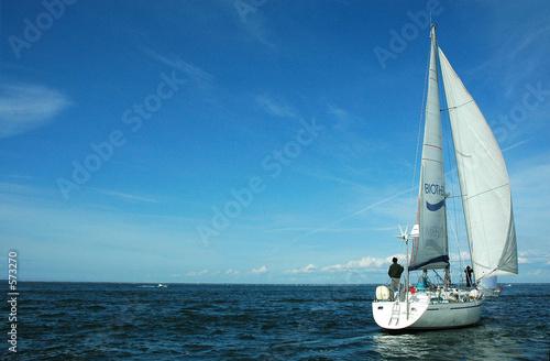 Fotomural voilier sur arcachon