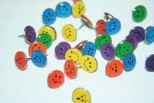 Smiley Faced Thumb Tacks