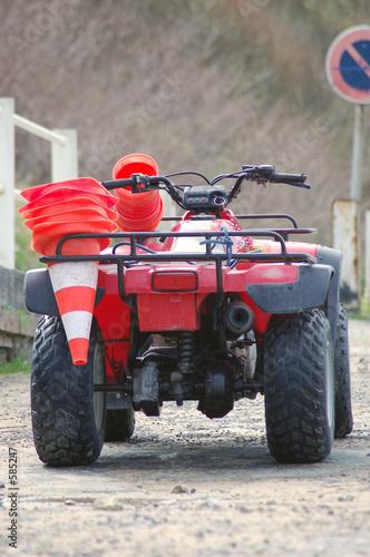 quad rouge