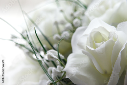 Foto-Stoff bedruckt - white wedding (von Liv Friis-larsen)