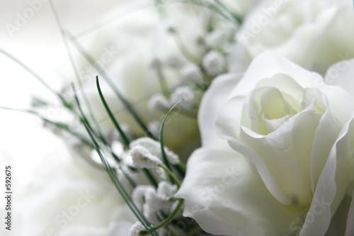 Foto-Duschvorhang - white wedding