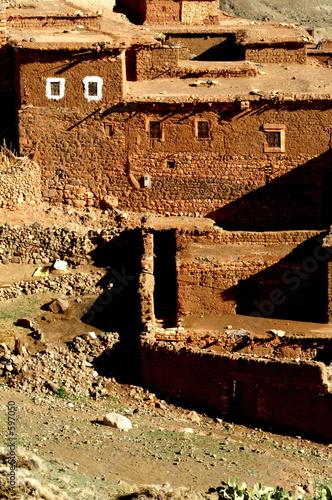 Photo une kasbah berbère