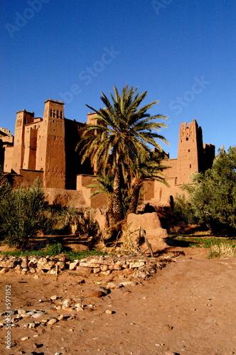 Photo le village d'aït benhadou (2)