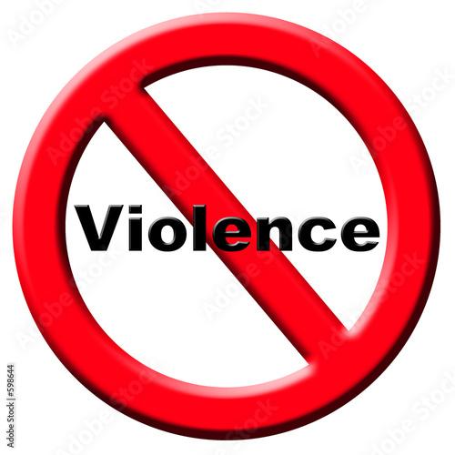 violence, agression Canvas Print