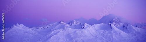 Fotografie, Obraz  le mont blanc