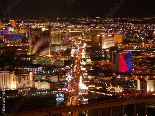 Keuken foto achterwand Las Vegas las vegas strip at night