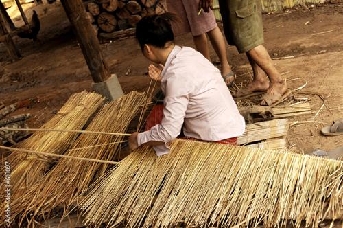 Vászonkép thailand, chiang mai: palong hilltribe