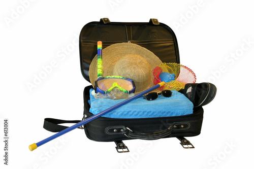 Valokuva valise prete pour les vacances a la plage