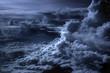 Leinwandbild Motiv blue clouds