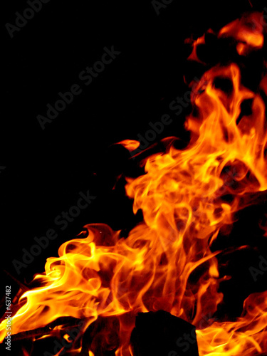 Poster Fire / Flame perfect fire