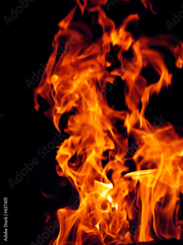 Poster Fire / Flame fire flame