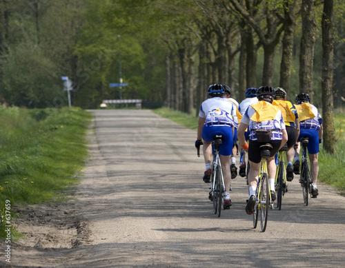 Aluminium Prints Indonesia cyclist