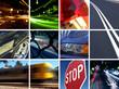 Leinwanddruck Bild transport montage