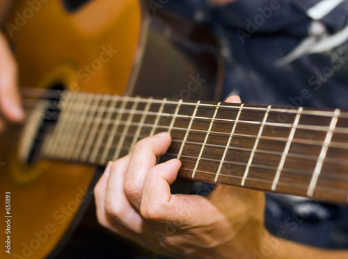 Photo guitar player
