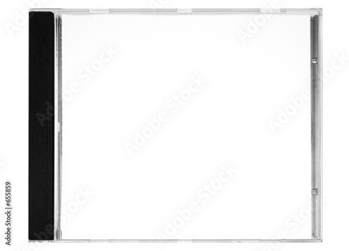 Obraz disc labeling – blank disc cover w/ path (front) - fototapety do salonu