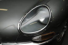 E-type Jaguar Front Headlight