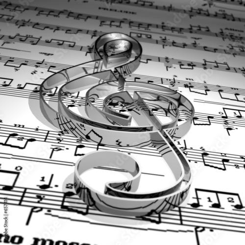 Fototapeta premium muzyka
