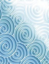 Decorative  Sea Swirls