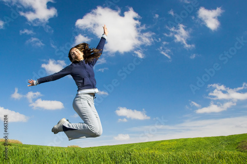 Photo  jumping