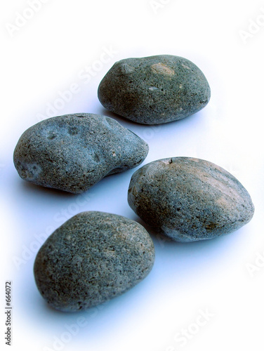 Doppelrollo mit Motiv - pebbles