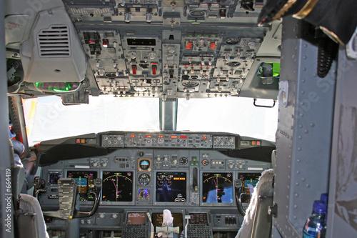 Stampa su Tela cockpit 2