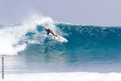 Fotografie, Obraz  surfing maldives