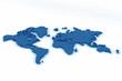 world map flat 5