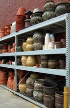 Colorful Ceramic Gardening Pots