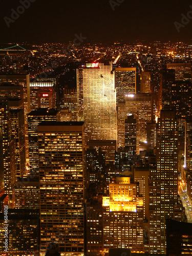 Fototapeta premium Nitescape w Nowym Jorku