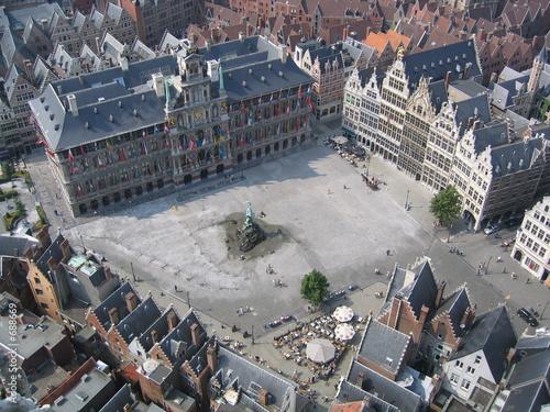 Staande foto Antwerpen antwerpen