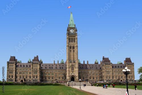 Carta da parati canadian parliament building ottawa