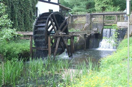 Aluminium Prints Mills wassermühle