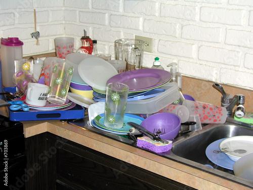 Deurstickers Kinderkamer dirty kitchen