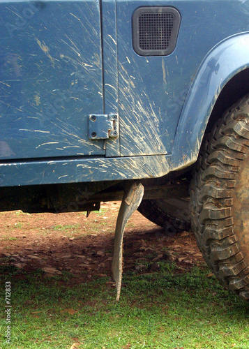 Photo  off road detail