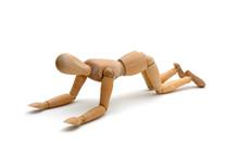 Figurine - Kneel