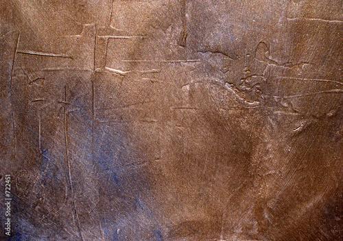 Fotografie, Obraz  bronze grunge texture