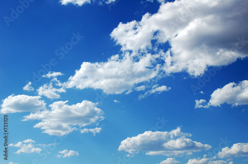 Photo  blue sky clouds