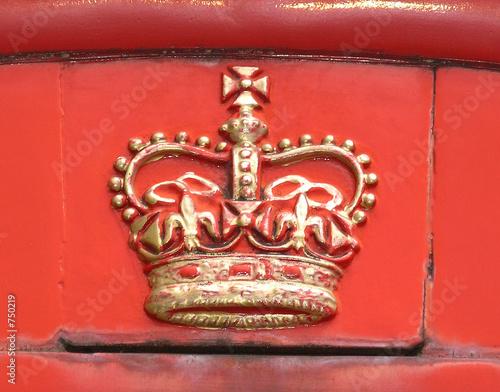 englische krone Canvas-taulu