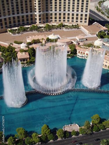 Door stickers Las Vegas fountain 5