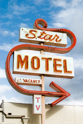 motel sign - Buy this stock photo and explore similar ...