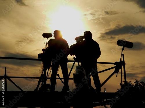 Valokuvatapetti cameramen