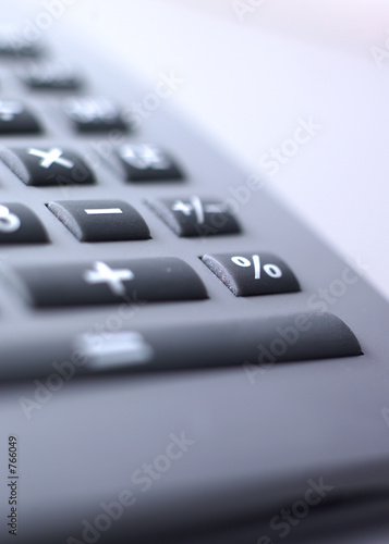Fotomural calculatrice