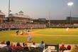 Leinwandbild Motiv baseball game