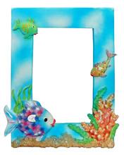 Aqua Photo Frame