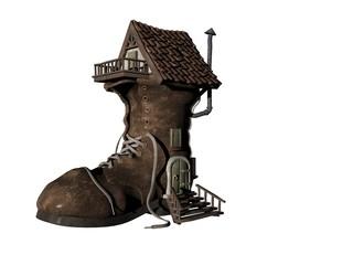 shoe house four