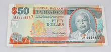Barbados 50 Dollar Bill