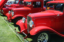 Classic Red Trucks