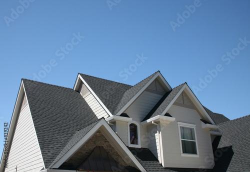 multiple roof lines Fototapeta